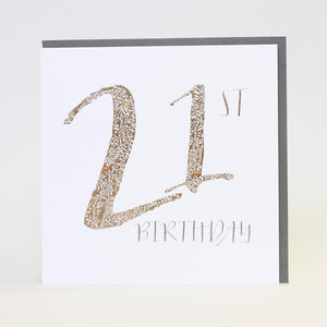 Paloma Birthday 2016 - 21st Greetings Card