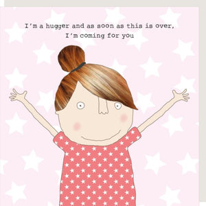 Hugger Greetings Card