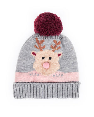 Powder Kids Cosy Rudolph Hat - Slate