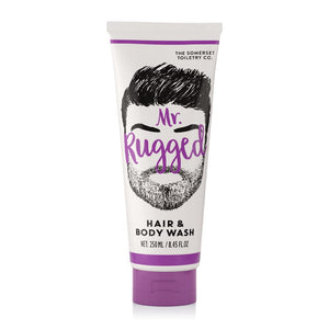 Mr Rugged Mens Hair & Body wash 200ml Tube