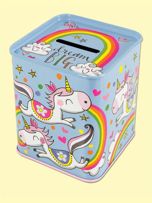 Money Box - Dream Big Unicorns