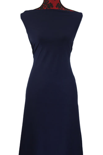 Navy - $17.50 pm - 180gsm Cotton Spandex