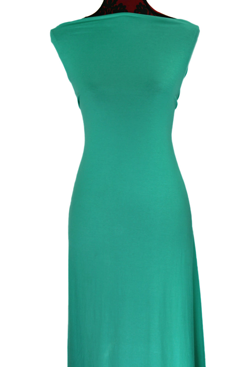 Sea Green - $17.50 pm - 180gsm Cotton Spandex