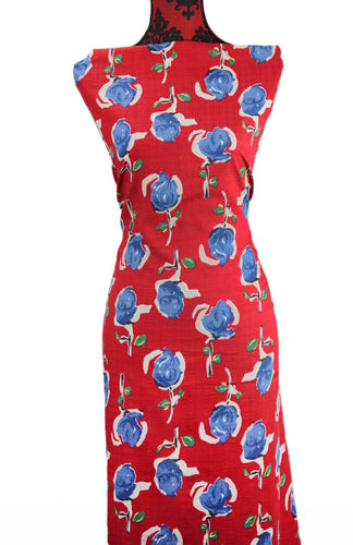 Artistic Roses - $16.50 PM - Rayon/Cotton