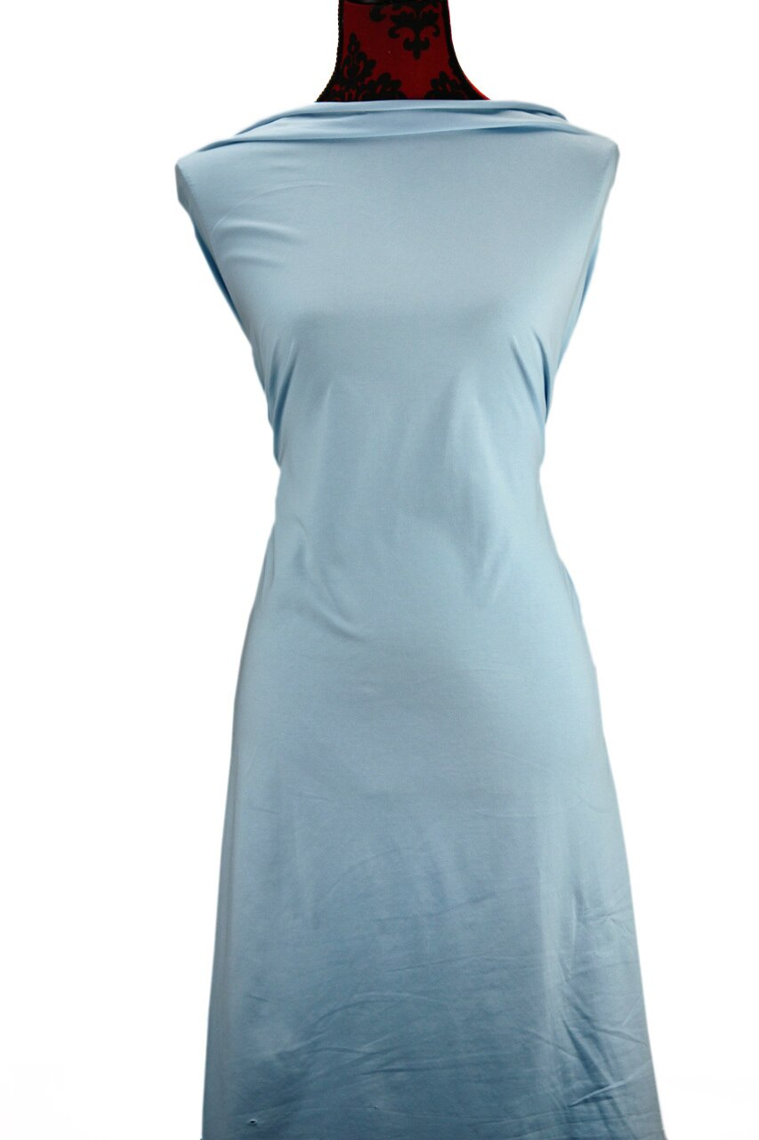 Baby Blue - $17.50 pm - 180gsm Cotton Spandex