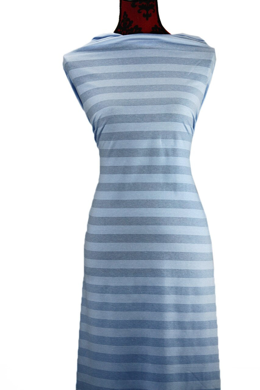 Blue Glitter Stripes - $17.50 pm