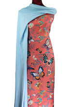 Load image into Gallery viewer, Butterfly in Coral - $17.50 - 100% Cotton