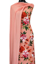 Load image into Gallery viewer, Carmen in Salmon Pink - $17.50 per metre - DTY