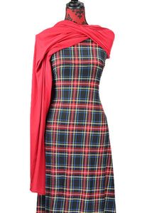 Classic Plaid - $17.50 pm - Single Brushed Poly