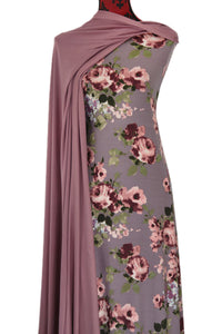 Dream in Mauve - $17.50 pm - Double Brushed Poly