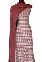 Load image into Gallery viewer, Pink Gingham - $19.50 per metre - French Terry