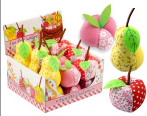 Fruity Fun Pin Cushions