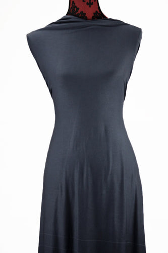 Gun Metal Grey - $17.50pm - Rayon Modal