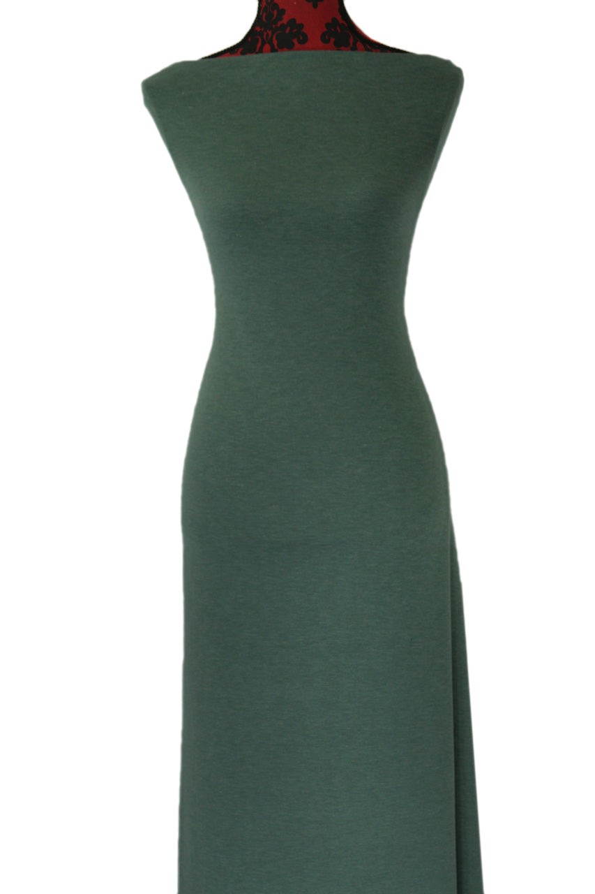Heathered Green - $18.50 pm - French Terry