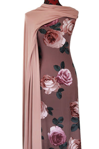 Hope in Dusty Pink - $17.50 pm - Double Brushed Poly