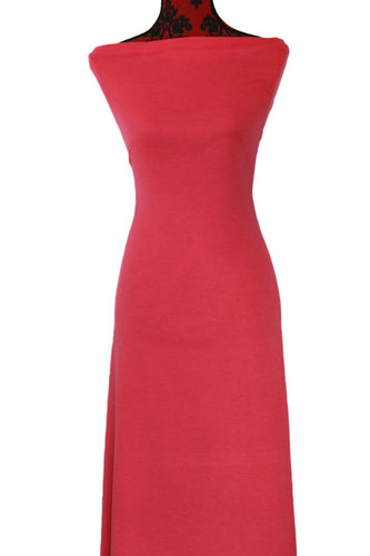 Dark Coral - $18.50 pm - French Terry