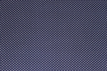 Load image into Gallery viewer, Tiny Dots in Navy -  $17.50 Per Metre - double brushed poly