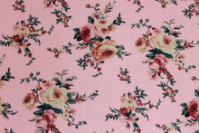 Load image into Gallery viewer, Pretty in Pink -$17.50 Per Metre - Ghost Crepe