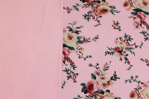 Pretty in Pink -$17.50 Per Metre - Ghost Crepe