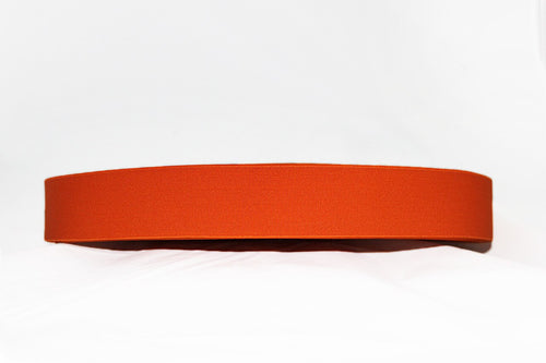 Orange 40mm wide Exposed Elastic - $5.00 per metre