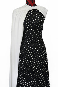 Irregular Dots - $17.50 pm - Double Brushed Poly