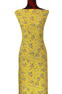 Jacinta in Yellow - $15.50 PM - Rayon Challis