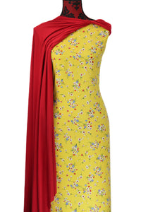 Jacinta in Yellow - $16.50 PM - Rayon Challis
