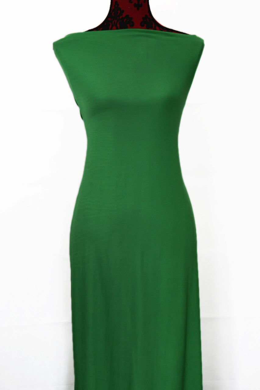 Kelly Green - $16.50pm - single brushed poly