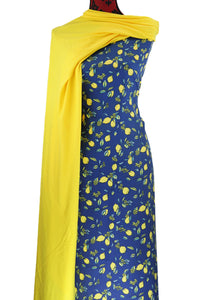 Lemon Tree - $17.50 PM - Brushed 100% Cotton Woven