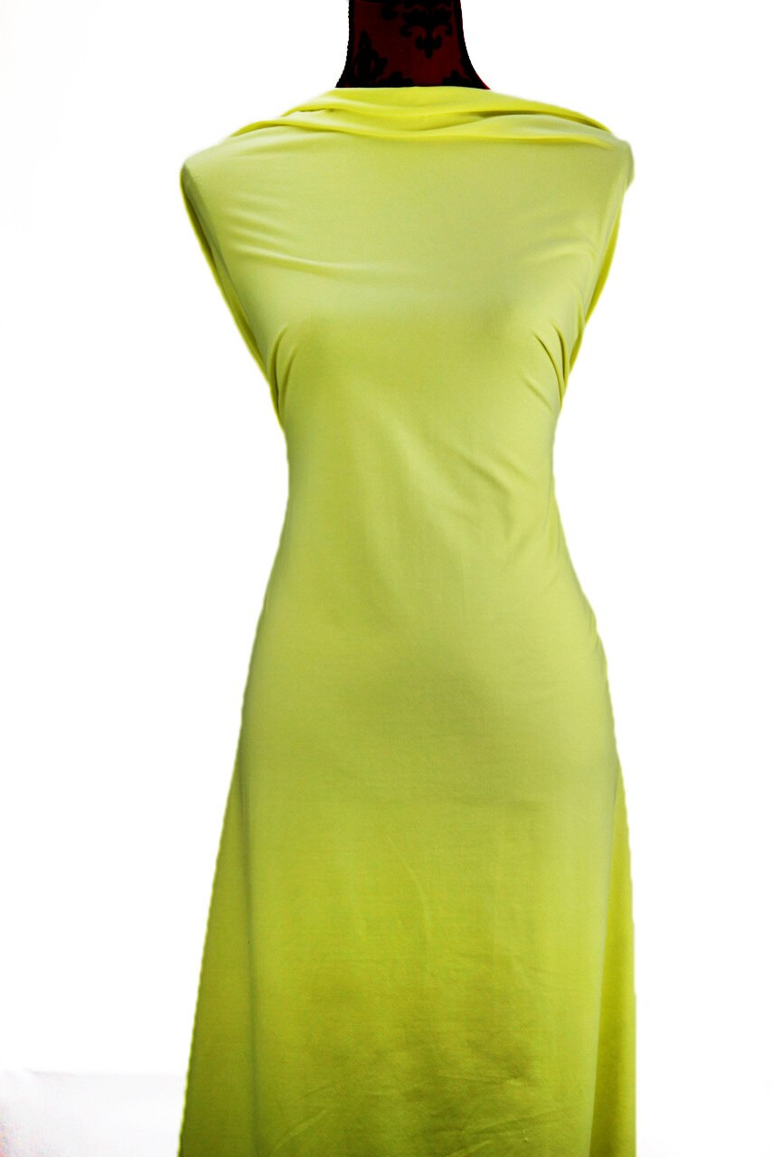 Lemon - $17.50 pm - 180gsm Cotton Spandex