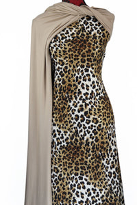 Leopard on Quilted Knit - $20pm