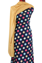 Load image into Gallery viewer, Multi Coloured Polka Dots - $17.50 PM - Brushed 100% Cotton Woven