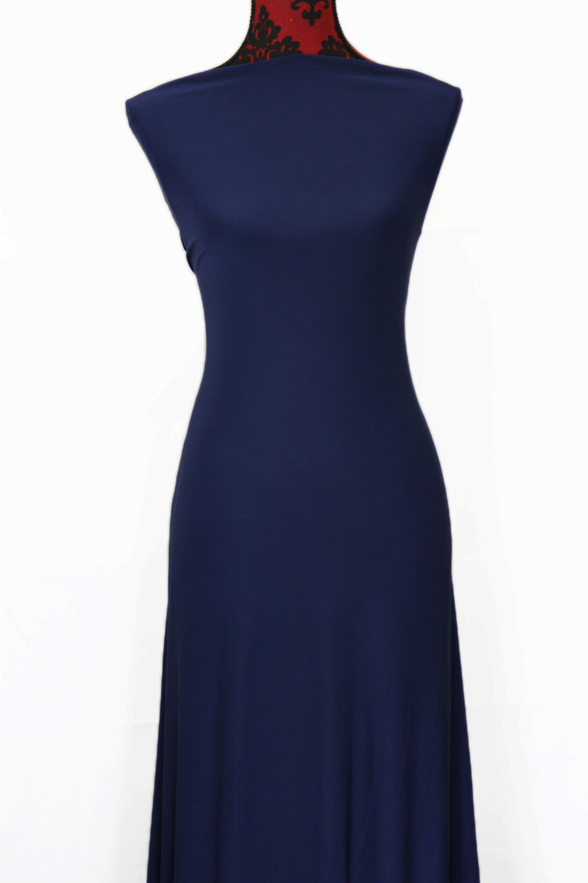 Navy - $16.50pm - single brushed poly