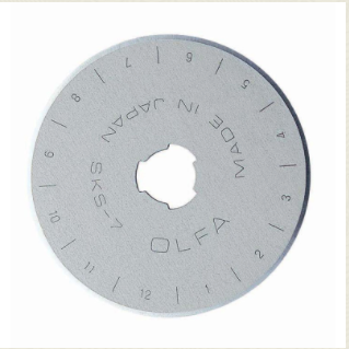 Olfa 45mm Blade Replacement - 1 pack