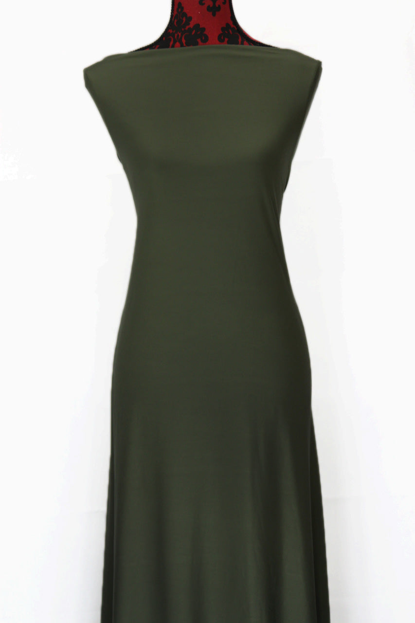 Olive - $16.50pm - single brushed poly