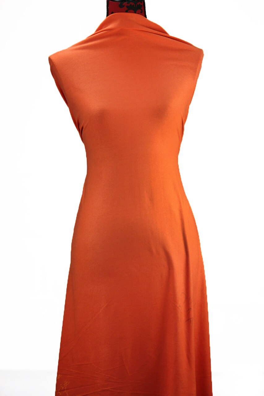 Orange - $17.50 pm - Rayon Spandex