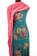 Load image into Gallery viewer, Oriental Blooms -  $18.50pm - Rayon Spandex