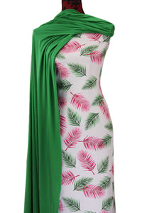 Pink Fronds - $16.50 PM - Rayon Challis