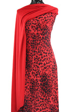 Load image into Gallery viewer, Red Animal Print - $18.50pm - Pila Spandex