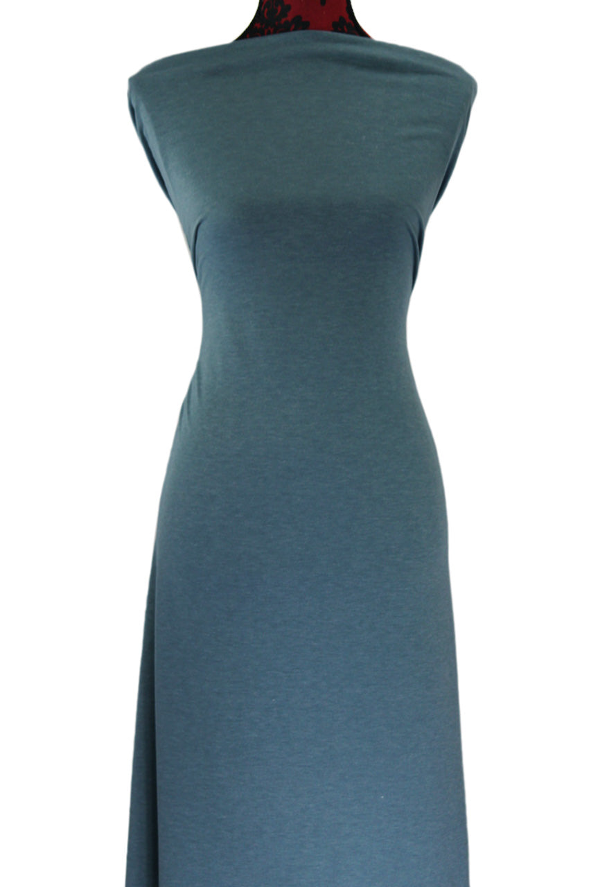 Teal 2 Tone - $18.50 pm - French Terry