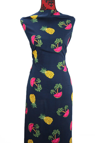 Tropical Fruit - $15.50 PM - Rayon Challis