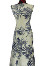 Load image into Gallery viewer, Tropical Woods in Green - Cotton Spandex - $19.00 per metre