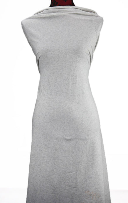 White and Grey Marl - $17.50 pm - 180gsm Cotton Spandex