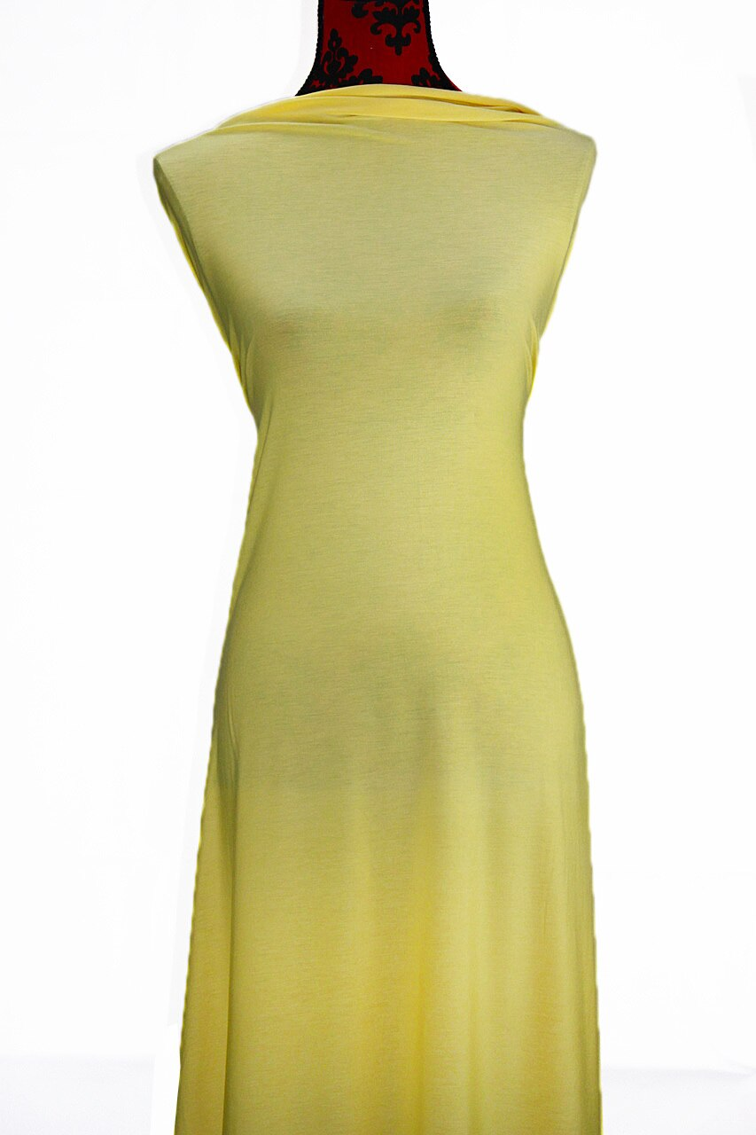 Yellow - $17.50pm - Rayon Modal