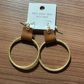 Ring &leather hook