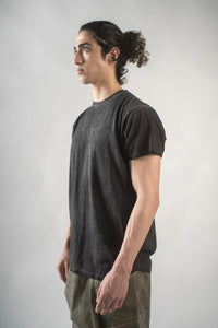 Slim-Fit Short Sleeve in Shadow