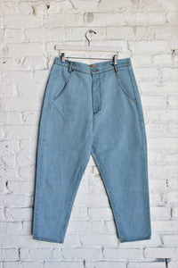 Mid-Rise Slouch Pants