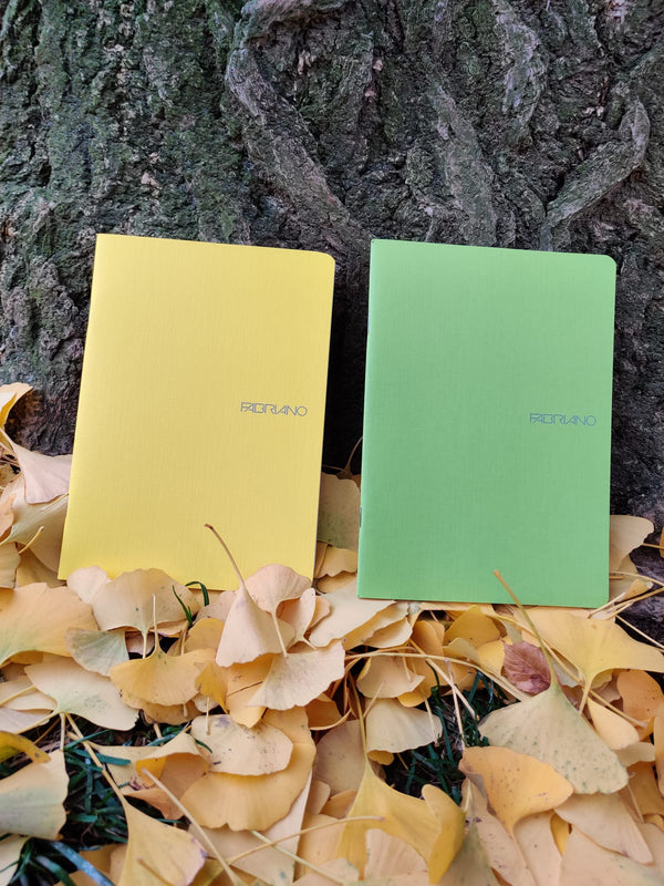 Large colourful notebooks