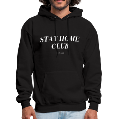 Boots Stay Home Club Hoodie - black