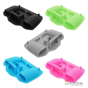 2-Hole Silicone Toothbrush Holder
